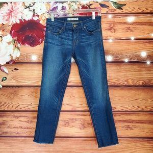 J Brand Custom Pencil Leg Jeans